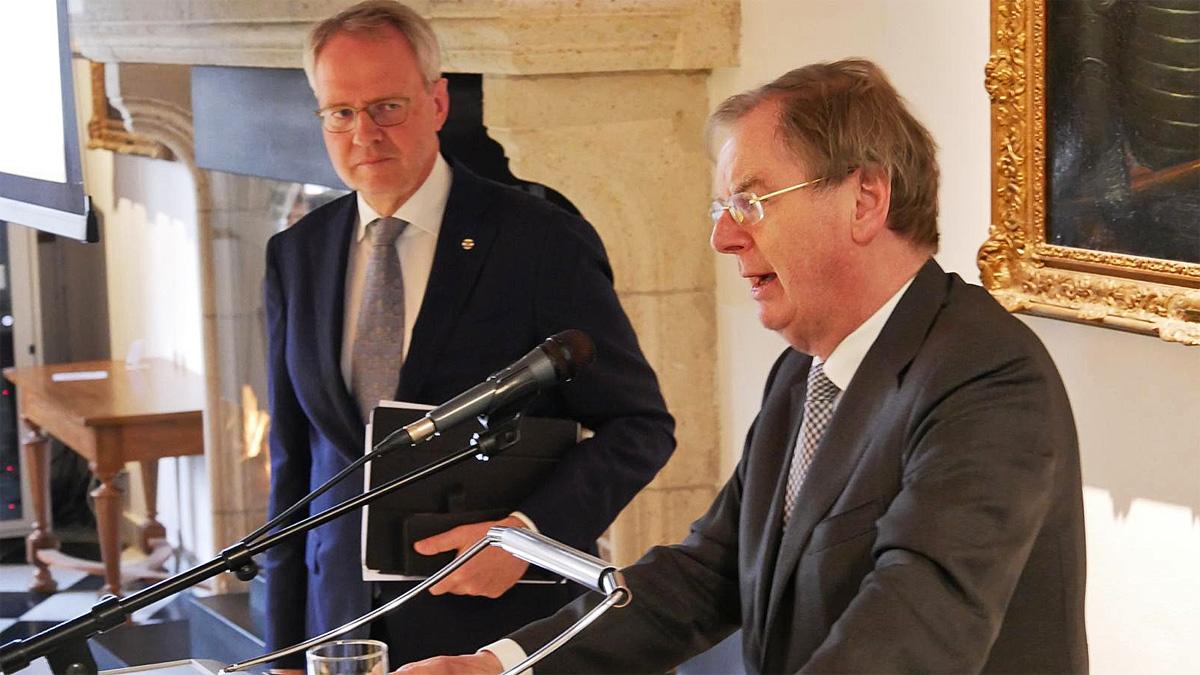Han Polman en Bernard Wientjes