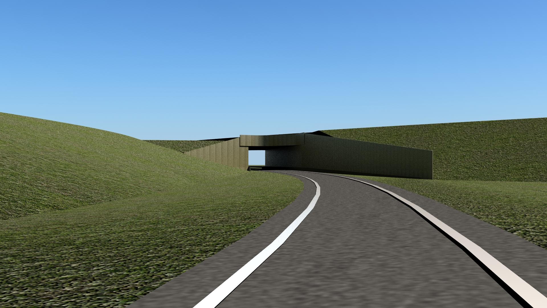 Knooppunt Sloeweg: viaduct op de Sloeweg