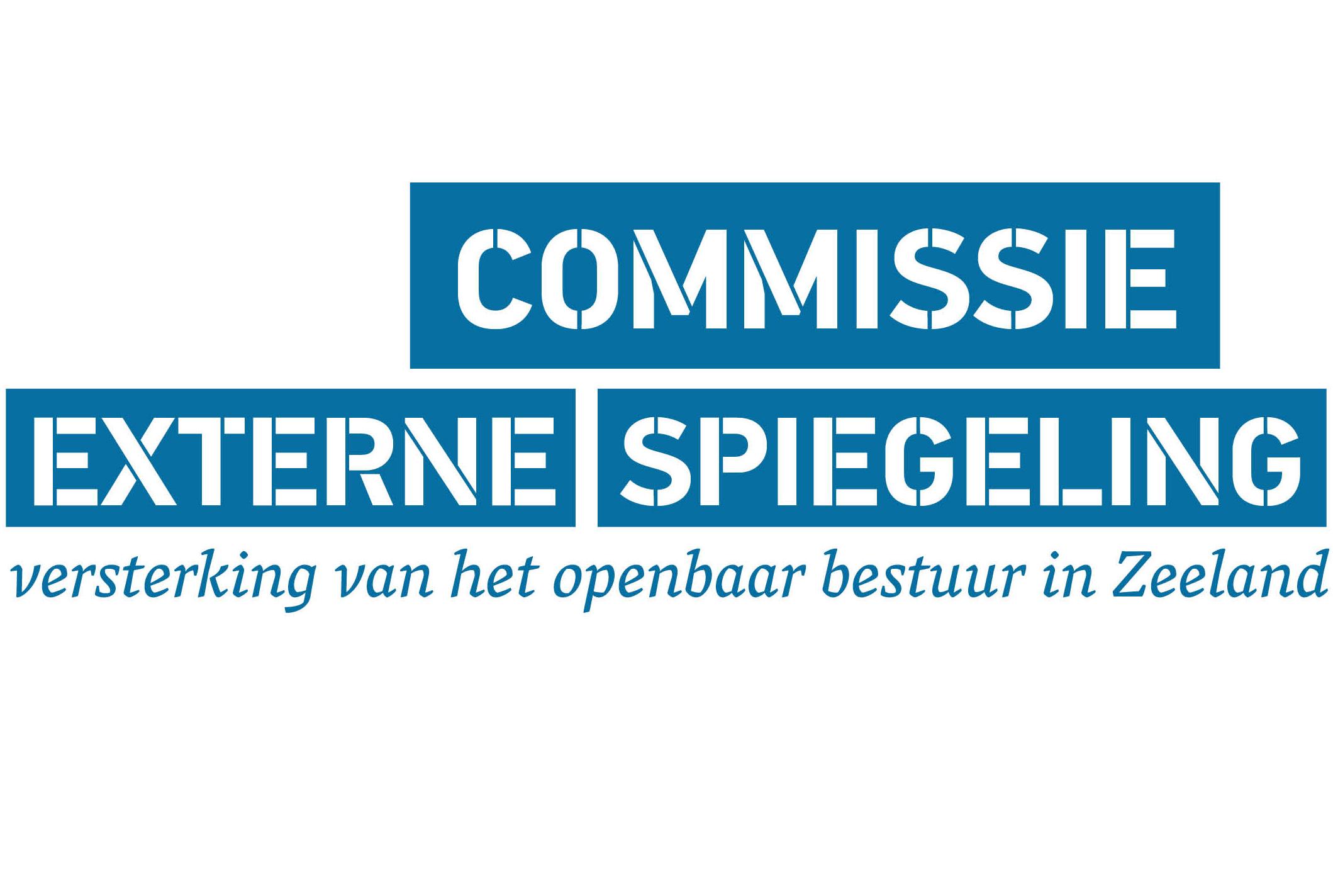 Logo Commissie externe spiegeling