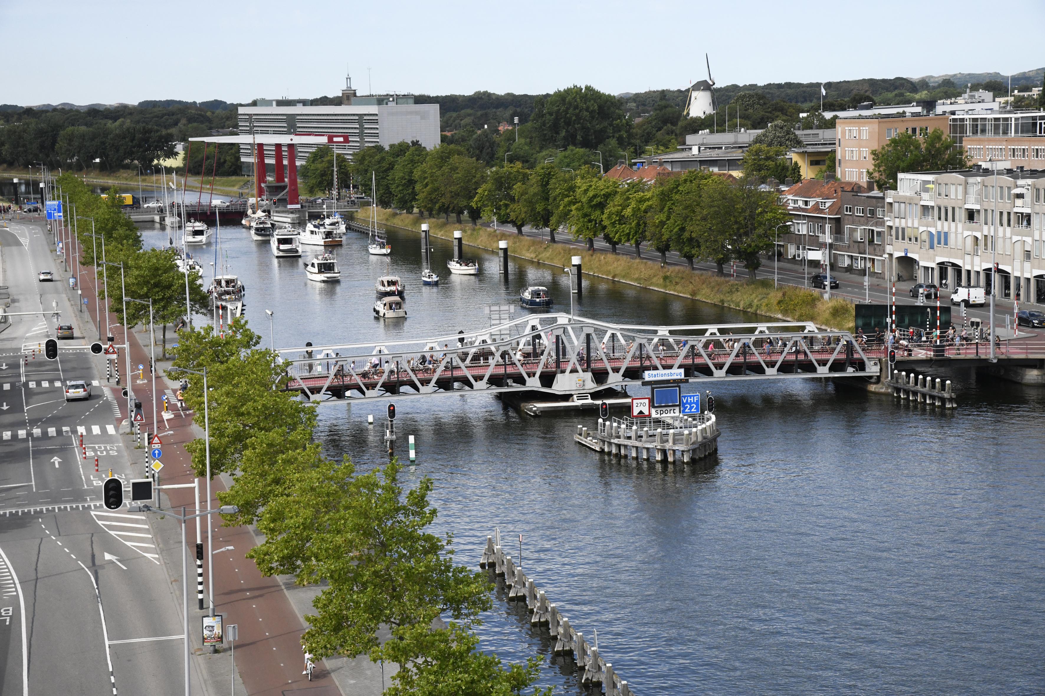 Stationsbrug in Middelburg