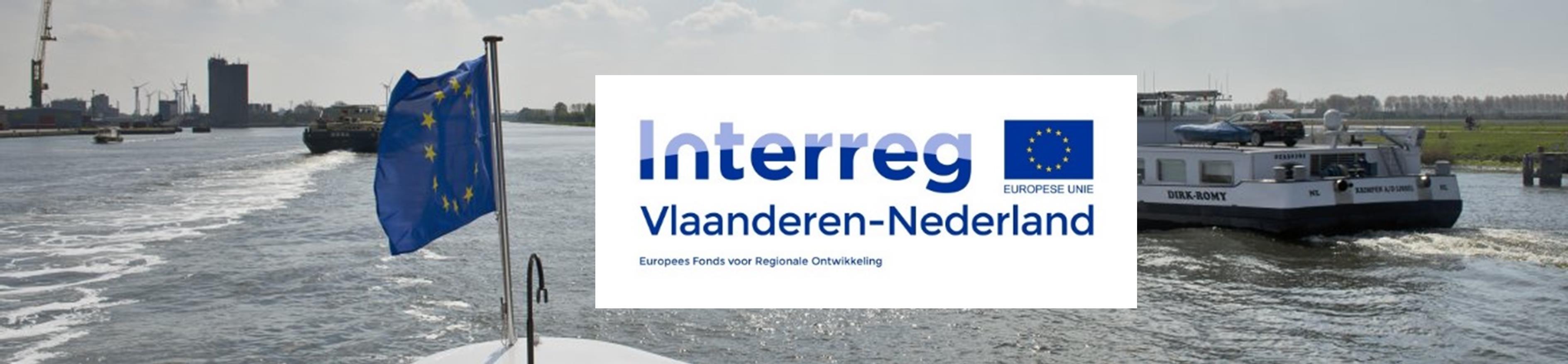 foto topformaat schip plus groot logo Interreg VL-NL