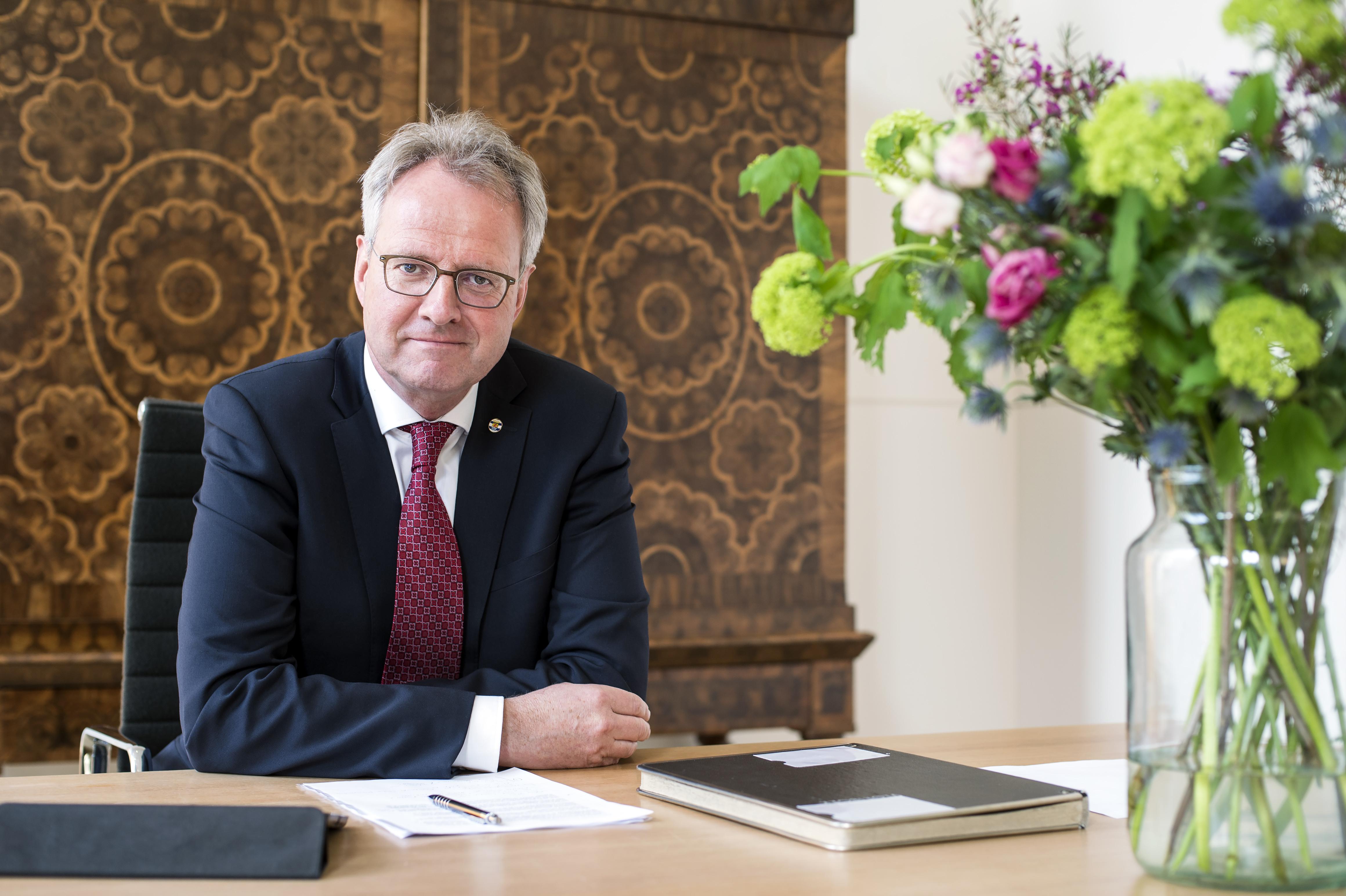 Commissaris van de Koning Han Polman