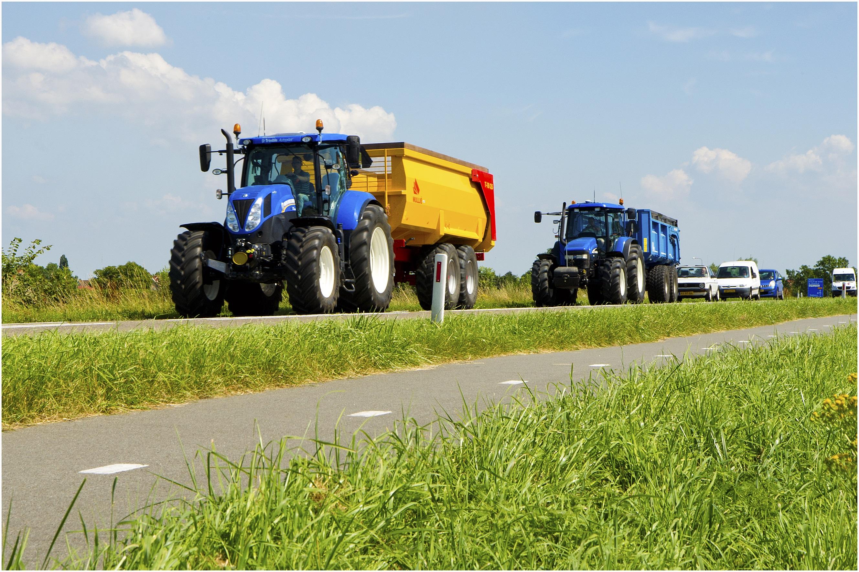 Logistieke landbouwroute