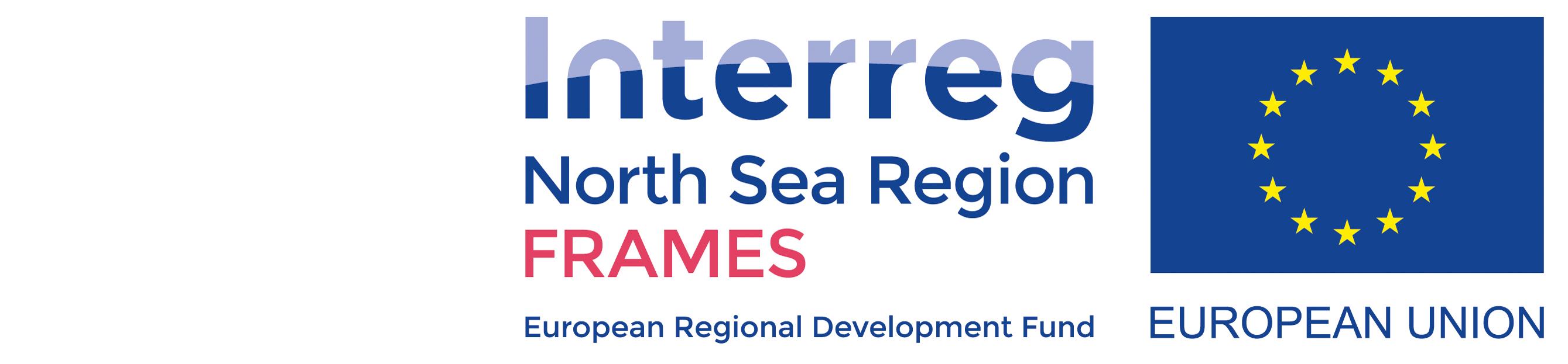 Logo Interreg North Sea Region FRAMES