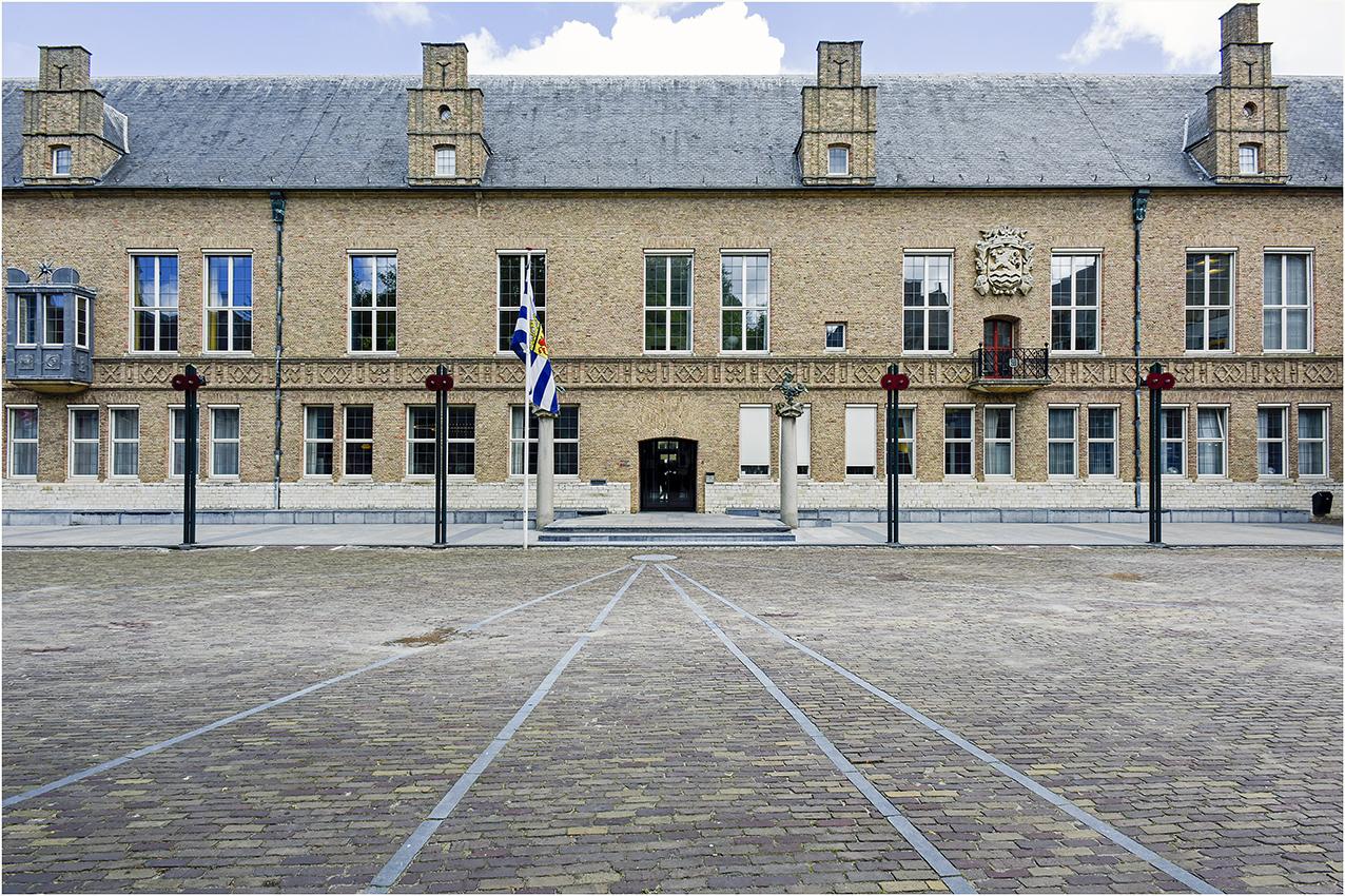 Ingang Provinciehuis