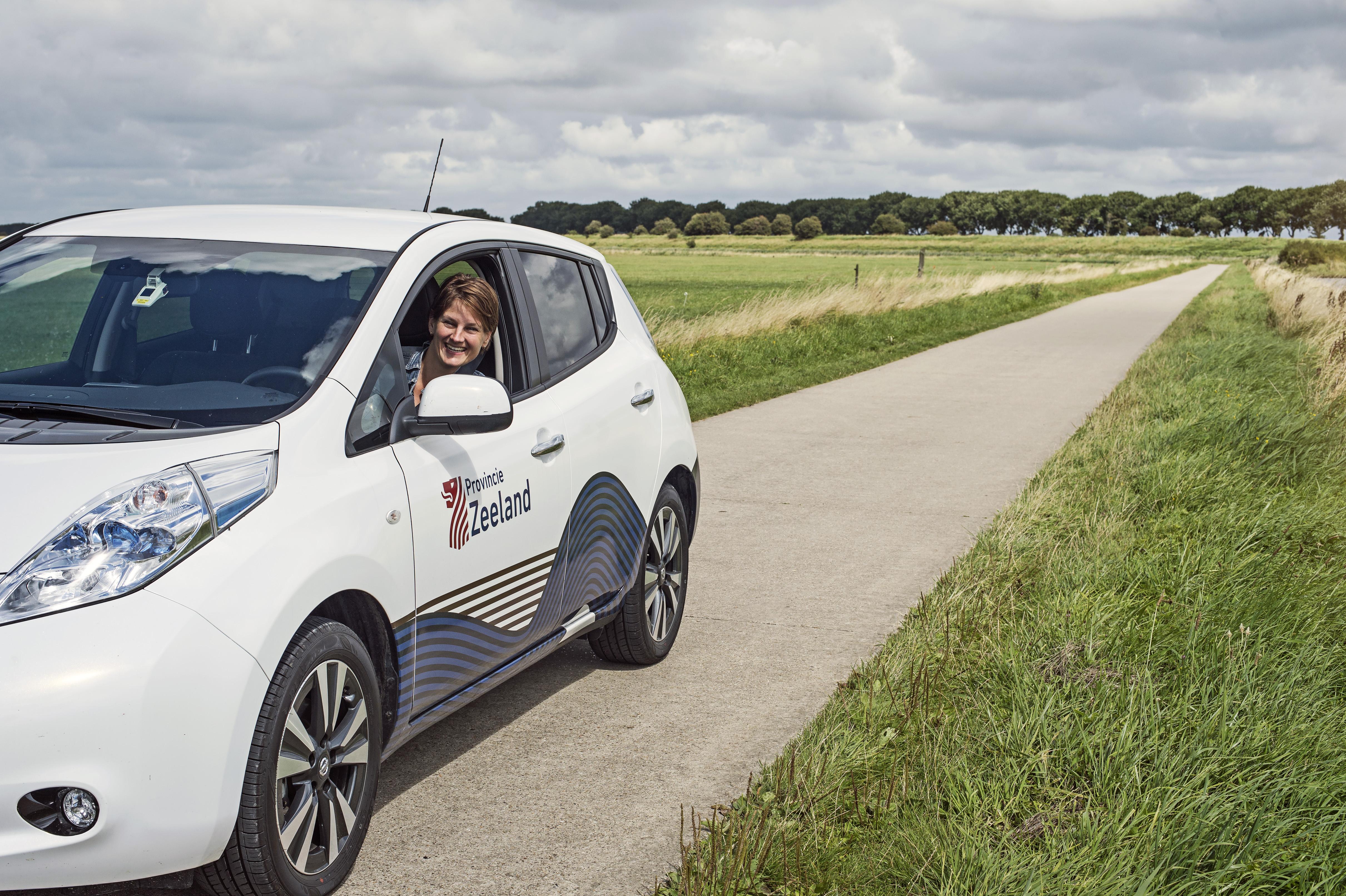 Elektrische auto Provincie Zeeland